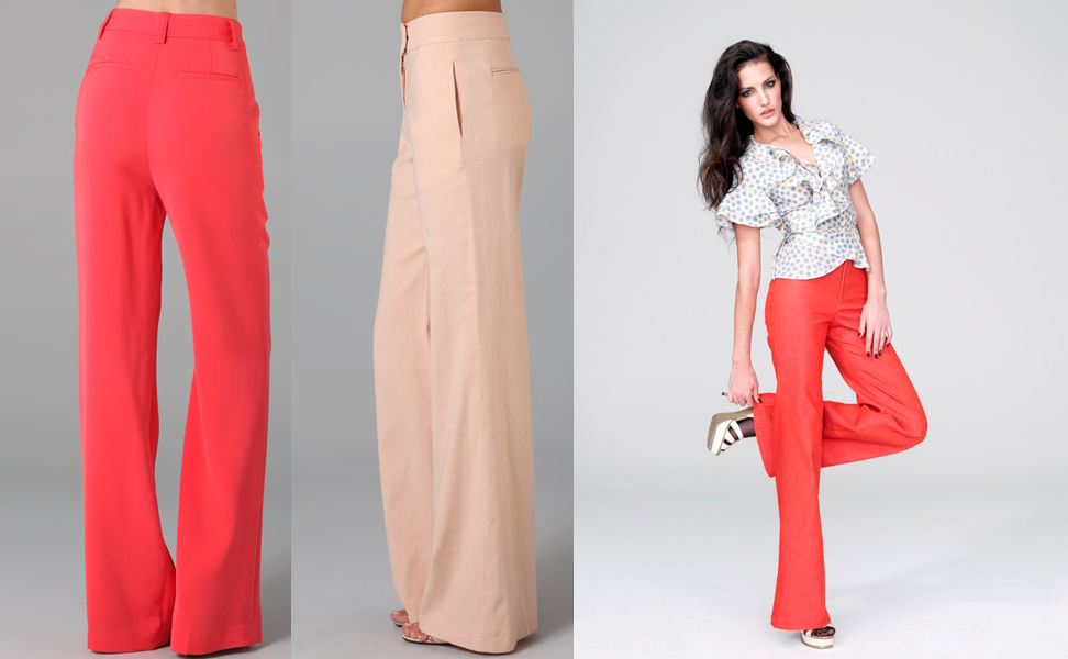 The Wide-leg Linen Trousers: Inspiration • Cloth Habit