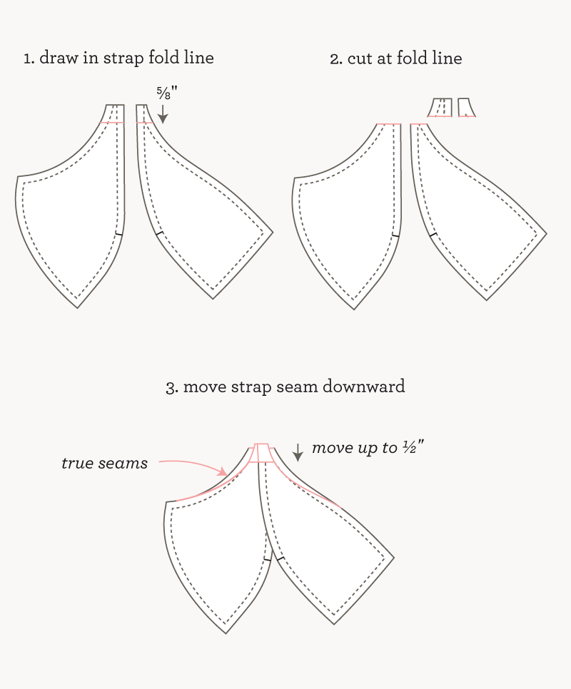 Adjust Cup Height| Watson Sew Along